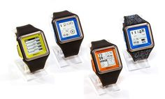 $100 Pretty cool! Gets info form your phone, like appointments, lets you know who's calling, etc. and you can control the music on your phone...Metawatch Strata Smartwatch for iPhone and Android Smartphones. Multiple Colors Available. Free Returns.