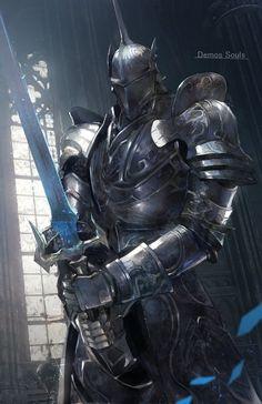 Fantasy Armor, Medieval Fantasy, Dark Fantasy Art, Dragon Knight, Knight Art, Armor Concept, Concept Art, Arcane Knight, Fantasy Character Design