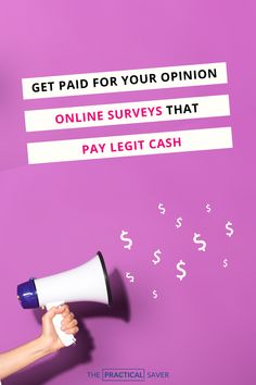 13+ Best Paid Online Surveys for Money. Survey apps that pay cash working at home. Earn legit  extra cash, up 10 $115/hr, to help pay off debt, save money, or increase your budget. Read now to get started! | The Practical Saver | Saving Money Quotes, Money Saving Tips, Money Tips, No Spend Challenge, Money Saving Challenge, Survey Apps That Pay, Survey Sites, Best Paid Online Surveys, Surveys For Cash