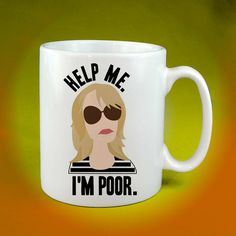 Bridesmaids Help Me I'm Poor Coffee Cup Mug by Tenicmug on Etsy