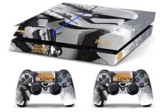 Skin PS4 HD STAR WARS limited edition Playstation 4 COVER DECAL