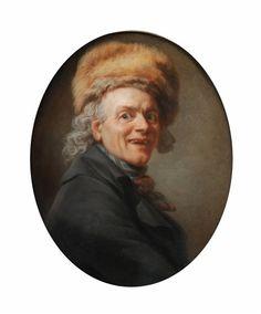 Autoportrait à la toque de fourrure by Joseph Ducreux