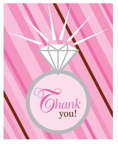 Bride 2 Be Dots Thank You Notes