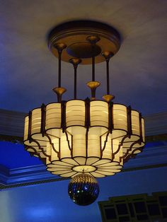 Camden Centre, Bidborough Street: London art deco light by mermaid99, via Flickr