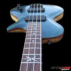 The custom built PAF Bass Guitar | Crimson Guitars UK