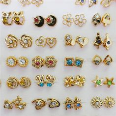Small Gold Silver Fashion Kids S Stud Earrings