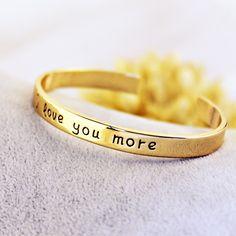 I Love You More Bangle