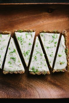 Raw Key Lime Tart