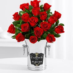 There is no flower that expresses true love as timelessly and as perfectly as the long-stemmed red rose. ProFlowers red roses are always breath-taking and always guaranteed to last at least a week, ensuring your message of love endures...