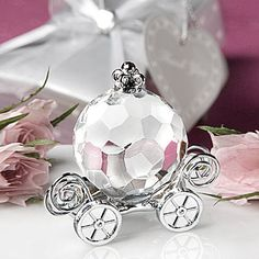 choice-crystal-cinderella-pumpkin-coach-favors @ the roche shop {therocheshop.com} I LIKE THIS AS A POTENTIAL FAVOR. FITS THE THEME.