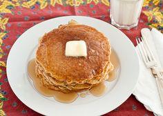 Whole Wheat Blender Pancakes by Lindsey Johnson {Cafe Johnsonia}, via Flickr