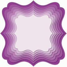 Silhouette Design Store - View Design #76893: nested label