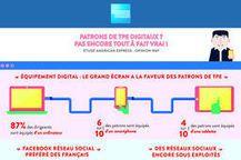 #Startup :Les patrons de TPE sous-exploitent les réseaux sociaux et l'e-commerce
