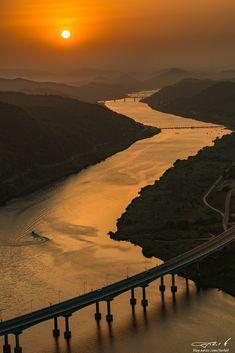 Sunset in Korea by Juchan Kim