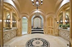 Master Bathroom! It amazes me this is actually in a lucky person home