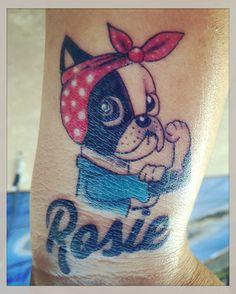 My Rosie.. The Boston Terrier! ❤️