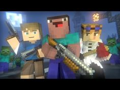 Blocking Dead: FULL ANIMATION (Minecraft Animation) [Hypixel] - YouTube