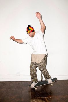 Image of Mark Gonzales for Supreme 2013 Fall/Winter Editorial by Terry Richardson