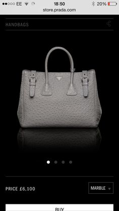 Prada bag... Grey