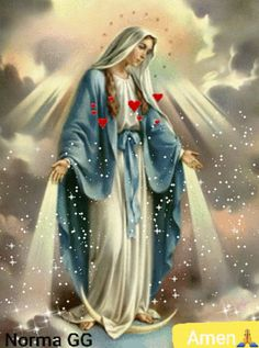 The perfect Virgen Angel Mary Animated GIF for your conversation. Discover and Share the best GIFs on Tenor. Religious Images, Religious Icons, Religious Art, Catholic Pictures, Pictures Of Jesus Christ, Blessed Mother Mary, Blessed Virgin Mary, Catholic Art, Catholic Saints