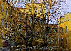 Москва. Дворик в Лялином переулке