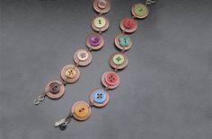 Copper Button Bracelets