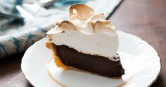Double Chocolate Cream Pie Recipe is a tasty & super delicious American dish. Cream Pie Recipes, Cookie Recipes, Dessert Recipes, Desserts, American Dishes, American Food, American Recipes, How To Double A Recipe, Cookies Policy