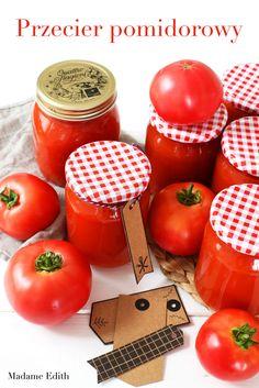 przecier pomidorowy Menu, Vegetables, Menu Board Design, Vegetable Recipes, Veggies
