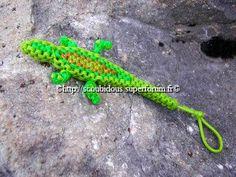 Nanou015 ---tuto--- http://www.scoubidous.eu/pages1/animaux/crocodile.html