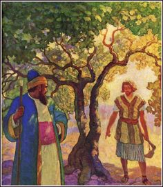 """Illustration from """"The Parables of Jesus,"""" by S. Parkes Cadman (1931)"""