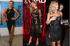 A aposta de Grazi Massafera em vestidos que modelam seu corpo