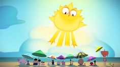 Sun of a Beach by Cartoon Brew. A film by Natan Moura debuting online exclusively in Cartoon Brew's 4th annual Student Animation Festival.