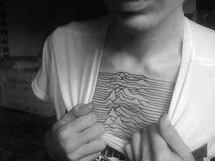 Joy Division ☆ chest tattoo