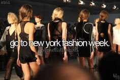 @Jocelyn Wood  Get the heels ready!! Were going to New York!!