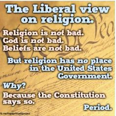 this is the view that ACTUALLY promotes religious freedom