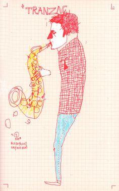 Jazz Musician. by N.Kim
