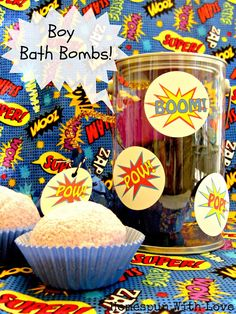 Summer Camp: Boy Bath Bombs - Design Dazzle