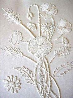 С.С.081017-Ну очень красиво! Белым по белому: вышивка в стиле Mountmellick