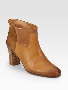 Maison Martin Margiela - Leather Patchwork Ankle Boots