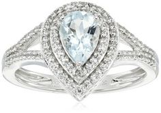 Non Diamond Engagement Rings Ideas at Affordable Price  - Clear Stone Rings