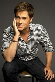 Rob Lowe: Parks and Recreation. Lichrally the sexiest man on the show.