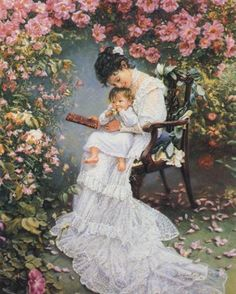 Mother's Touch ~ Sandra Kuck