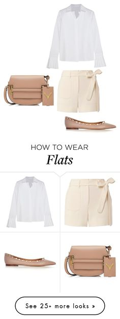 """""""Untitled #81"""" by avoidcolors on Polyvore featuring Helmut Lang, CO and Valentino"""