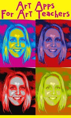 the Art Classroom Art Apps for Art Teachers Teaching with iPads and Apps in the Art Classroom.Art Apps for Art Teachers Teaching with iPads and Apps in the Art Classroom. Ipad Kunst, Art Doodle, Classe D'art, Art Lessons Elementary, Elementary Art Rooms, Art Education Lessons, Art Education Projects, Classroom Art Projects, Art Classroom Rules