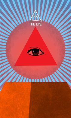 The eye - Os Quarenta Servos The Eye(O Olho) nos lembra que tudo está como deve ser, mesmo que não concordemos com isso. Acessem para uma compreensão melhor dos usos magickos e divinatórios desde Servo. Curtam Divagações