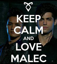 Keep Calm And Love Malec Babies <3