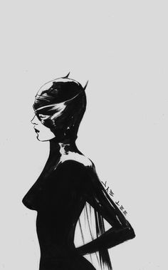 Catwoman hand-pained by Jae Lee Catwoman Cosplay, Cosplay Gatúbela, Batman Und Catwoman, Batman 1, Catwoman Mask, Batgirl, Comic Book Artists, Comic Book Characters, Comic Books Art