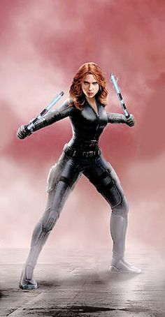 Black Widow Captain America Civil War Concept Art