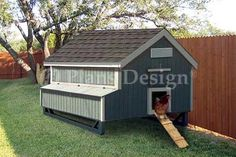 5'x6' Gable Chicken Hen House Coop Plans $12.95 on Ebay Love the size and style!