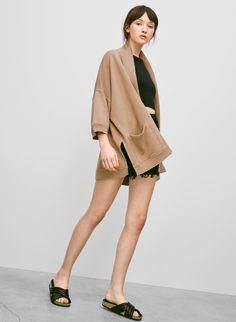 WILFRED FREE SEBERG SWEATER - Cool nights call for something oversized and seriously soft